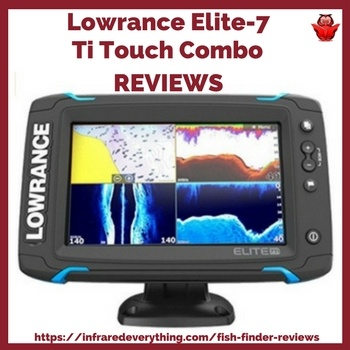 Picture of LOWRANCE ELITE 7 TI TOUCH COMBO