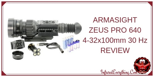 ARMASIGHT ZEUS PRO 640 4-32x100mm 30 Hz Thermal Rifle Scope
