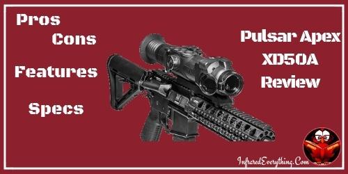 Pulsar Apex Thermal Rifle Scope
