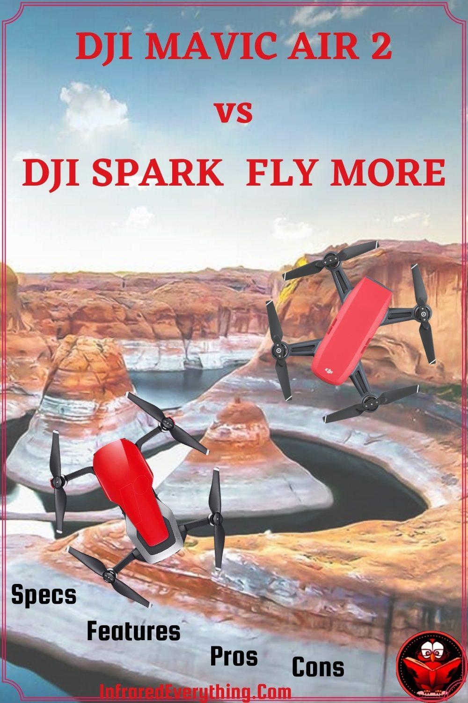 DJI Mavic Air 2 vs DJI Spark Fly More