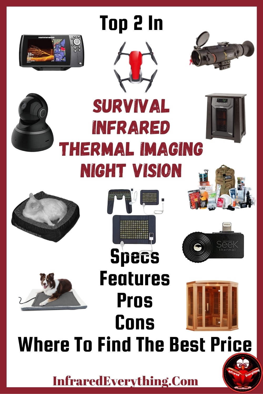 Top 2 in Survival, Infrared, Night Vision and Thermal Imaging Products